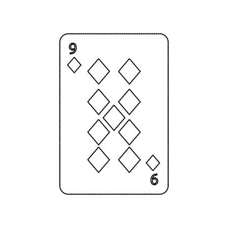 Ilustración del vector del icono del casino del diamante del naipe del póker Foto de archivo - 90167505