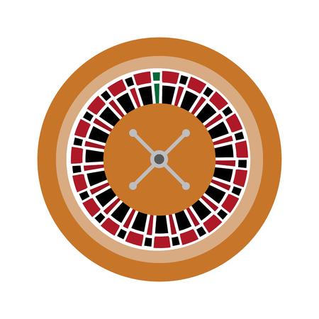 ルーレットのカジノ関連のアイコン画像ベクトル イラスト デザイン  イラスト・ベクター素材