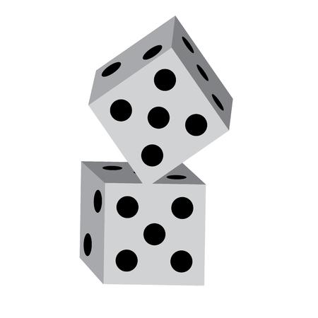 dice game icon image vector illustration design Фото со стока - 90169065
