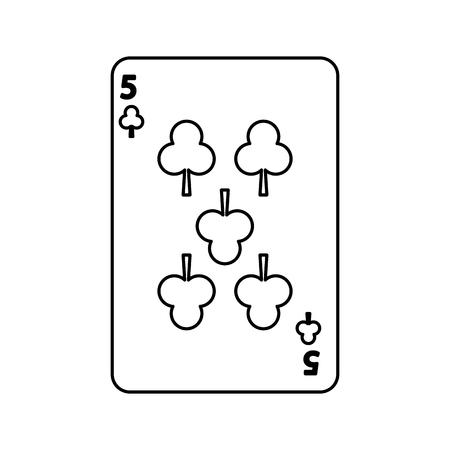 ポーカー クラブ カード カジノ アイコン ベクトル図 写真素材 - 90170497