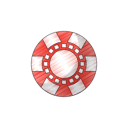 chip casino related icons image vector illustration design Фото со стока - 90173820