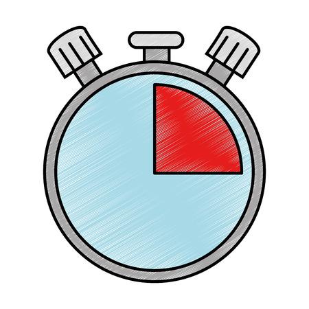 pressure gauge isolated icon vector illustration design Reklamní fotografie - 90190409