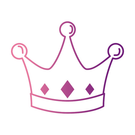 queen crown isolated icon vector illustration design Imagens - 90190343
