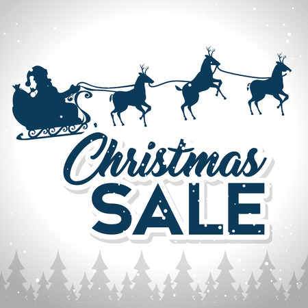 christmas sale banner background vector illustration graphic design Stock Vector - 90229088