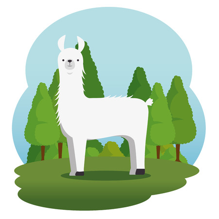 wild dierlijk beeldverhaal vectorillustratie grafisch ontwerp
