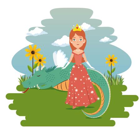 Fantastique personnage conte de fées dessin animé illustration vectorielle conception graphique Banque d'images - 90231584