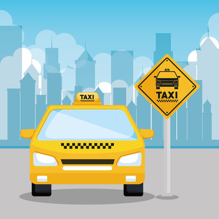 taxi service app smart transport travel vector illustration Illustration
