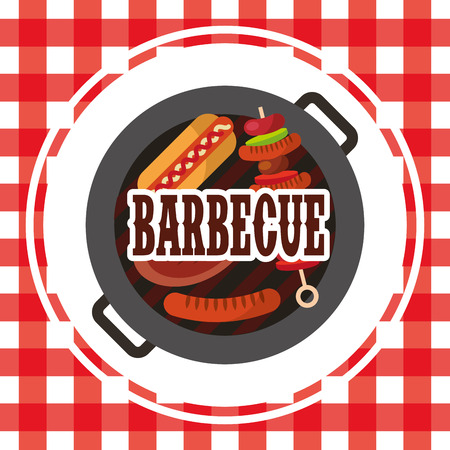 barbecue celebration concept icons vector illustration design