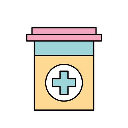 プラスチック容器医学クロス医薬品治療ベクター イラスト