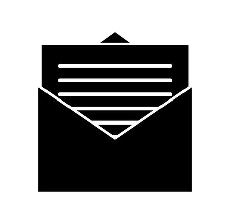 이메일 봉투 편지 메시지 통신 벡터 일러스트 레이션 일러스트