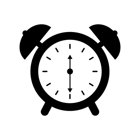 alarm clock time alert bell hour concept vector illustration Stok Fotoğraf - 90278068