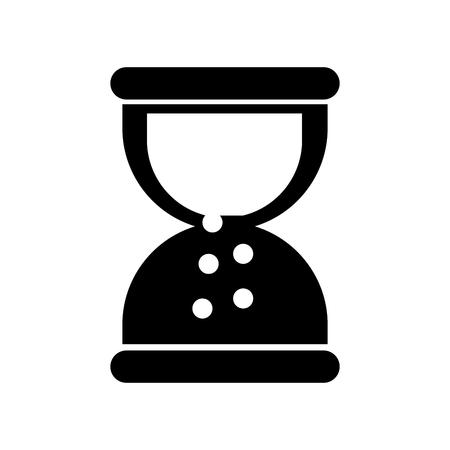 business sand clock time plan work vector illustration Çizim