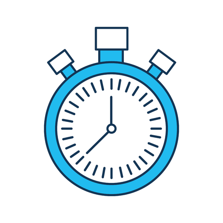Cronometro conto alla rovescia velocità timer icona illustrazione vettoriale Archivio Fotografico - 90278211