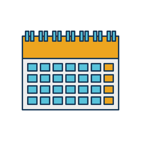 calendar business date appointment icon vector illustration