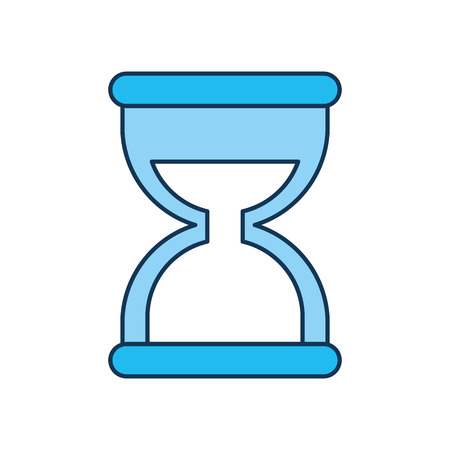 business time management hourglass and finance clock vector illustration 向量圖像