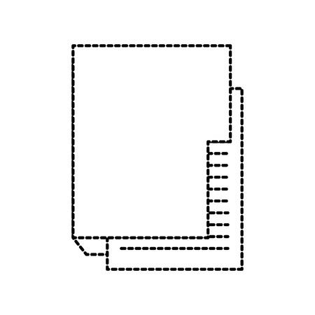 folder file document digital internet icon vector illustration Illustration