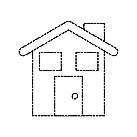 Lebkuchenhaus Lebensmittel Weihnachten Feier Vektor-Illustration Standard-Bild - 90277721