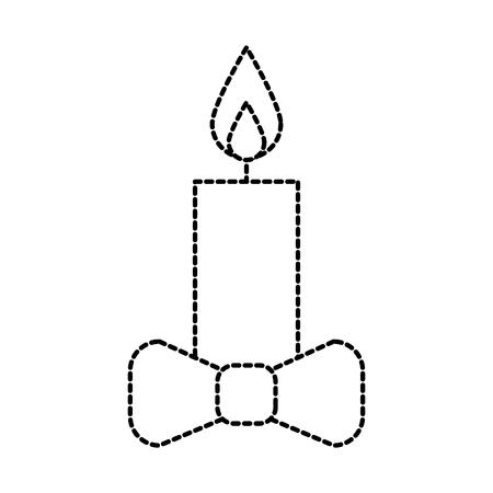 Natal vela wirth arco decoração ilustração vetorial Foto de archivo - 90280474