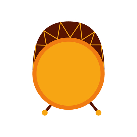 drum bass music top view icon vector illustration