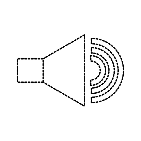 speaker audio sound volume button icon vector illustration Illustration