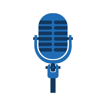 Microfone som música equipamento icon ilustração vetorial Foto de archivo - 90327401