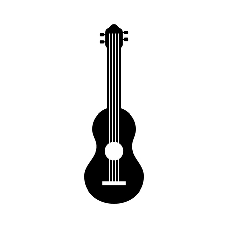 guitar instrument music acoustic sound vector illustration