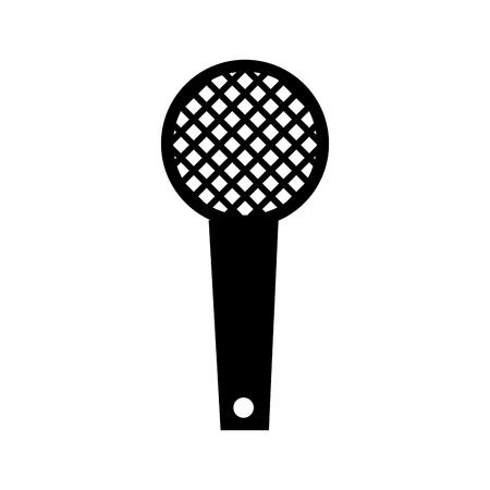 Ilustração em vetor microfone som equipamento música ícone Foto de archivo - 90308547