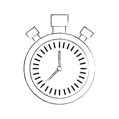 chronometer countdown speed timer object icon vector illustration Stock Vector - 90294914