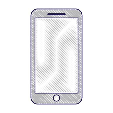 휴대 전화 스마트 장치 가제트 벡터 일러스트 레이션