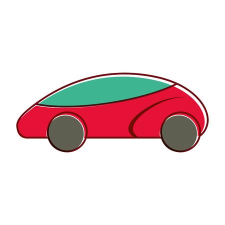 smart car autonomous self driving technology vector illustration Ilustração
