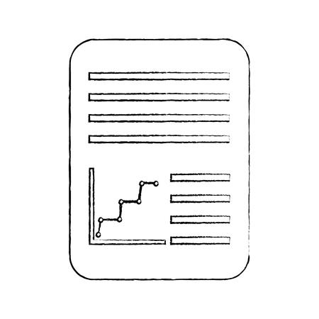 紙文書アイコン画像ベクトルイラストデザイン