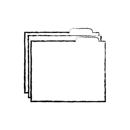 file folder icon image vector illustration design Stock fotó - 90302250