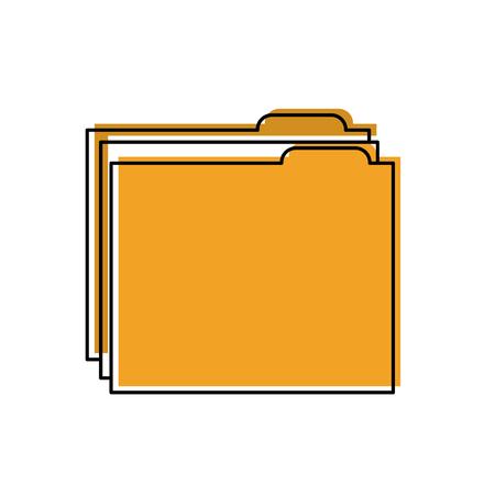 file folder icon image vector illustration design Illustration