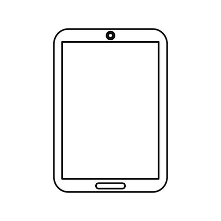 device technology tablet computer gadget vector illustration Фото со стока - 90326314