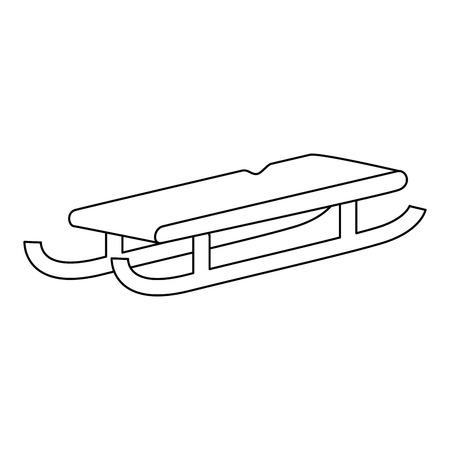 そり分離アイコン ベクトル イラスト デザイン  イラスト・ベクター素材