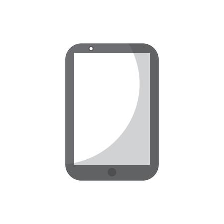 휴대 전화 스마트 장치 가제트 기술 벡터 일러스트 레이션