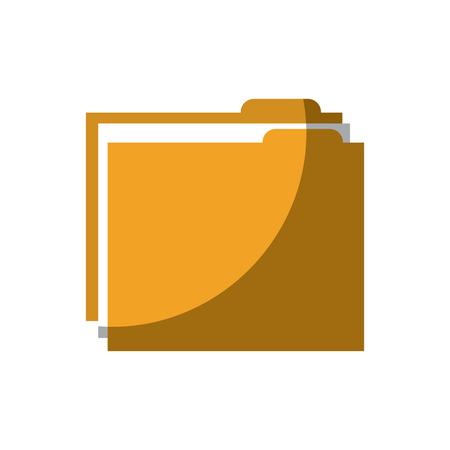 map bestand document archief informatie vectorillustratie Stock Illustratie