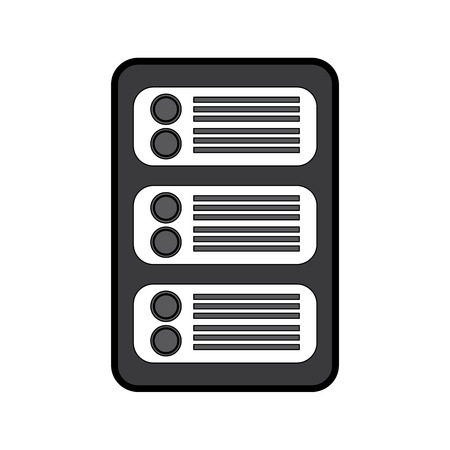 server web hosting icon image vector illustration design