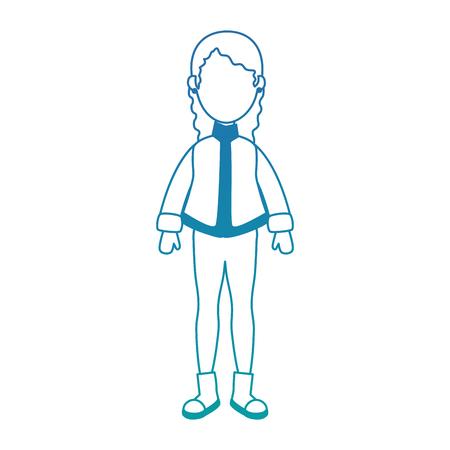 Belle femme avec des vêtements d'hiver vector illustration design Banque d'images - 90327418