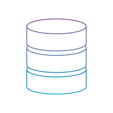 data server center system backup service vector illustration Фото со стока - 90327456