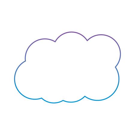 雲天気の空日気象デザイン ベクトル図