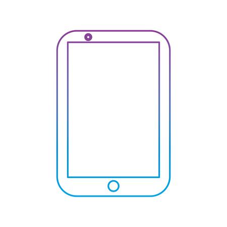 携帯電話スマート デバイスのガジェット技術ベクトル図  イラスト・ベクター素材