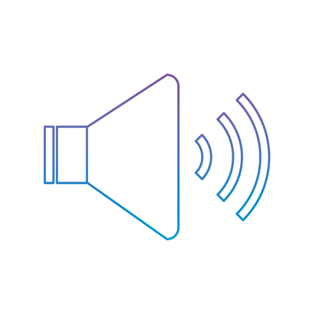 luidspreker geluid volume audio knop pictogram vector illustratie