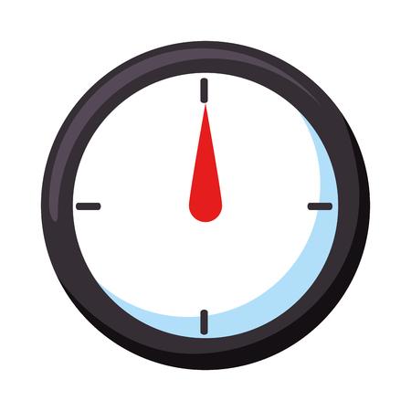 測定ゲージ分離アイコン ベクトル イラスト デザイン  イラスト・ベクター素材