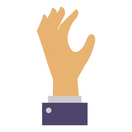 hand human catching icon vector illustration design Illustration