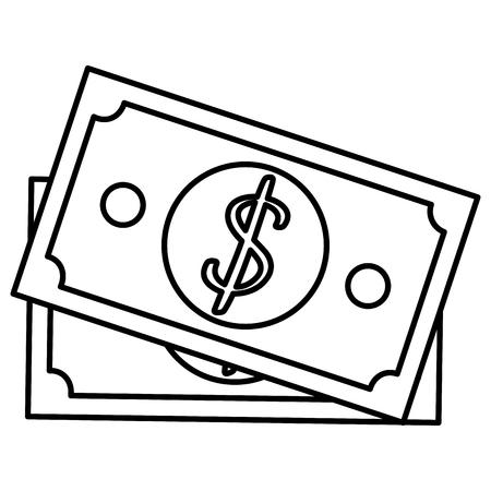 法案ドルお金アイコン ベクトル イラスト デザイン 写真素材 - 90340559