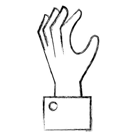 hand human catching icon vector illustration design Иллюстрация