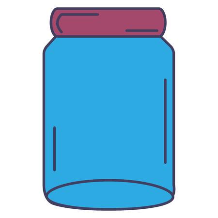 glass jar isolated icon vector illustration design Stock fotó - 90343688
