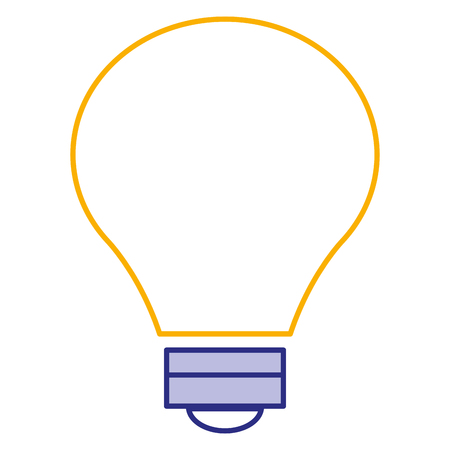 bulb light isolated icon vector illustration design Banco de Imagens - 90438732