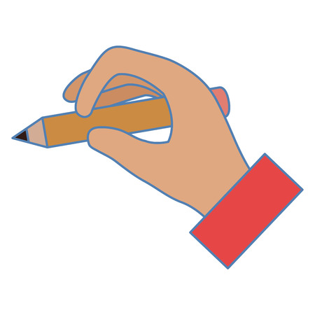 Hand writing icon vector illustration design Illustration